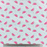 Tissu pul imperméable pastèque - 401