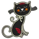 Thermocollant chat 15 x 10 cm - 408