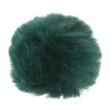 Pompons 6 cm vert - 408