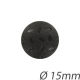 Bouton noir - 408