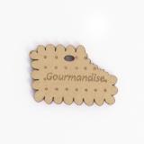 Bouton en bois gourmandises - 408