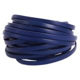 Cuir bleu dur de 5 mm - 408