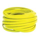 Cuir fluo jaune de 5 mm - 408