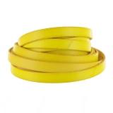 Cuir fluo jaune de 10 mm - 408
