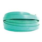 Cuir bleu/vert de 10 mm - 408