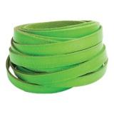 Cuir fluo vert de 10 mm - 408