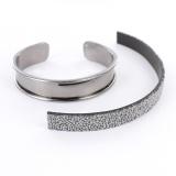 Bracelet jonc pour cuirs ou perles - 408