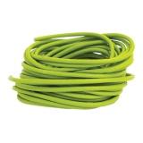 Cuir vert anis rond de 3 mm - 408