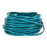 Cuir turquoise de 3mm - 408