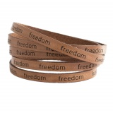 Cuir de 5mm freedom - 408