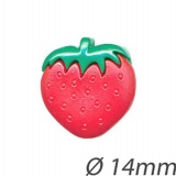 Bouton forme fraise - 408