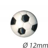 Bouton enfant forme ballon de foot - 408