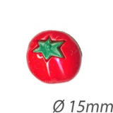 Bouton forme tomate - 408
