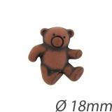 Bouton enfant ours - 408