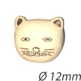 Bouton enfant chat - 408
