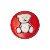 Bouton enfant ours gravé - 408