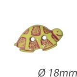 Bouton enfant forme tortue - 408