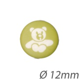 Bouton enfant ours - 408