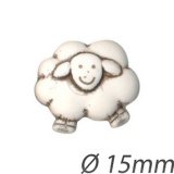 Bouton enfant forme mouton - 408
