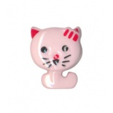 Bouton enfant forme chat - 408
