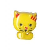 Bouton enfant forme chat - 408
