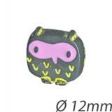 Bouton enfant hibou - 408