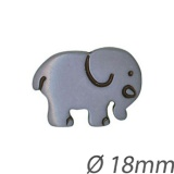 Bouton enfant forme éléphant - 408