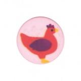 Bouton enfant poule - 408