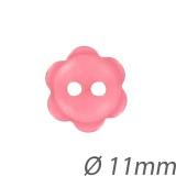 Bouton couture fleur nacré - 408