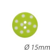 Bouton enfant pois 15mm - 408