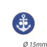 Bouton enfant ancre 15mm - 408