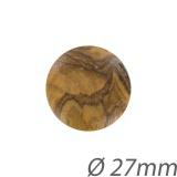 Bouton bois vernis - 408