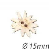 Bouton edelweiss en nacre - 408