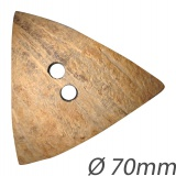 Bouton triangle en coco - 408
