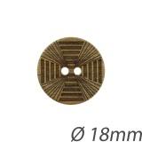 Bouton bois + laser - 408