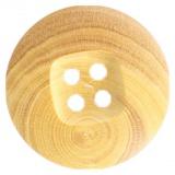 Bouton couture fantaisie en bois 15mm - 408