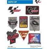Présentoir thermocollant Moto gp - 408