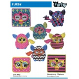 Présentoir thermocollant Furby - 408