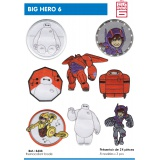 Présentoir thermocollant Big hero 6 - 408