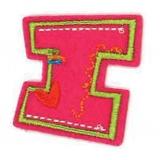 Lettre alphabet brode fun letters - 408