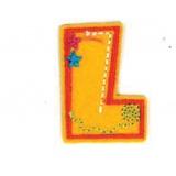 Lettre alphabet brode - 408