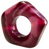 Perle pentagonale 25/35mm - 408