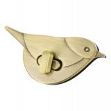 Fermoir pour sac oiseau 7 x 3 cm - 408