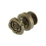 Pression fleur 15x10mm - 408