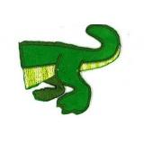 Thermocollant crocodile arrière - 408