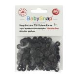 Bouton pression BabySnap® noir - 408