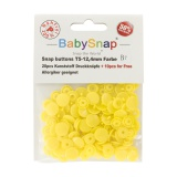 Pression baby snap type kam jaune - 408