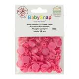 Bouton pression BabySnap® fuschia - 408
