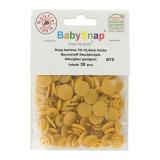 Bouton pression plastique BabySnap® moutarde - 408