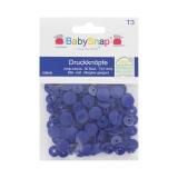 Bouton pression BabySnap® mat 11mm bleu - 408